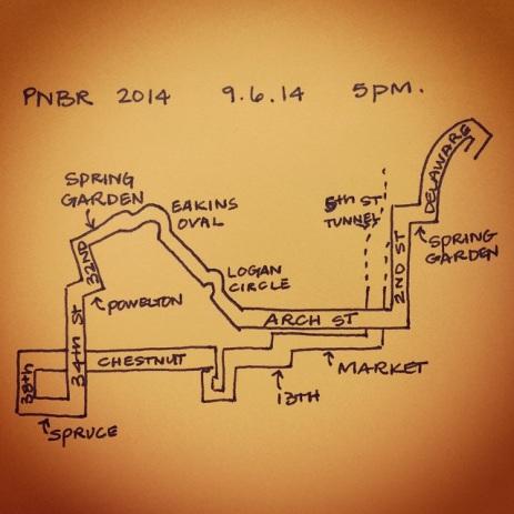 PNBR 2014 mini map